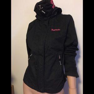 NWOT Fits M best szL cotton hooded light jacket